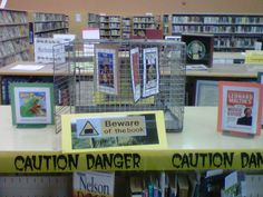Freedom To Read Book Display at the Peter Gzowski Branch, Georgina Public LIbraries.