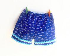 SEVEN SEAS Baby Toddler Shorts sewing pattern Pdf Children