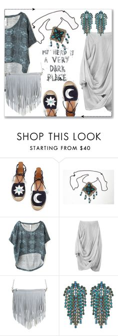 """My style"" by mahafromkailash ❤ liked on Polyvore featuring Aquazzura, Barlow, Vivienne Westwood Anglomania, Street Level, DANNIJO, MyStyle, summerstyle, summer2016 and tribalover"