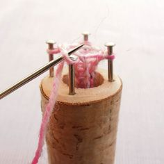 DIY:  French Knitting- How to tutorial