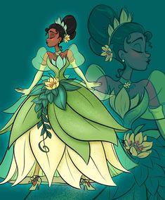 Tiana (Drawing by ApicolloDraws Arte Disney, Disney Fan Art, Disney Love, Disney Magic, Disney Pixar, Disney Characters, Disney Bound, Princesa Tiana, Disney Princes Funny