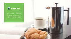 Linkyo Stainless Steel French Press Coffee Maker