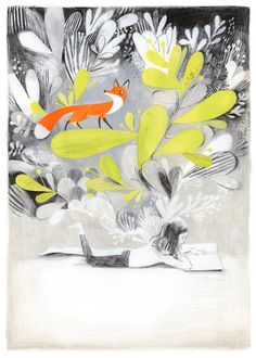 "Isabelle Arsenault : ""Jane, le renard & moi""  ( will be published in english this fall http://www.houseofanansi.com/"