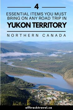 If you're planning a road trip around Canada's amazing Yukon Territory, there are a few must-have items will greatly improve your experience. Northern Canada, Yukon Territory, Road Trip Essentials, Future Travel, Canada Travel, Phuket, Central America, Places To See, Travel Guide
