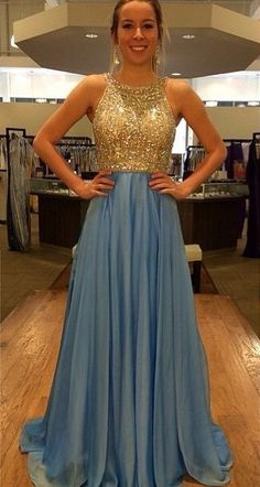 Beaded Sky Blue Prom Dress,Cheap Sweetheart Backless Chiffon Long Prom Dress With Split Skirt ,Prom Dresses,Evening Gowns,Formal Dress Cheap Semi Formal Dresses, Inexpensive Prom Dresses, Open Back Prom Dresses, Prom Dresses Uk, Backless Prom Dresses, Cheap Dresses, Pretty Dresses, Beautiful Dresses, Prom Gowns