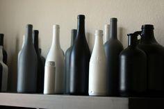 How To: Repurpose Booze Bottles on http://whitsamusebouche.com