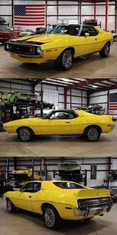 1973 AMC JAVELIN METAL LICENSE PLATE AMERICAN MOTORS AMX 360 390 401 MUSCLE CAR