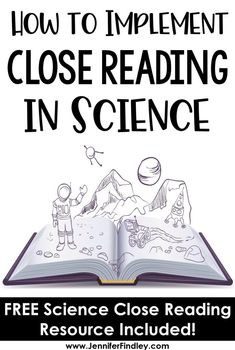 Close reading in science class? This post shares strategies and a free resource … Close reading in science class? This post shares strategies and a free resource for implementing close reading in science instruction. 7th Grade Science, Primary Science, Elementary Science, Middle School Science, Physical Science, Science Classroom, 4th Grade Ela, Science Resources, Science Lessons