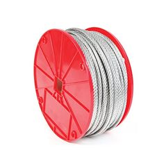 Koch Industries 003292  7 x 19 Reel Galvanized Cable, 3/8-Inch by 250-Feet