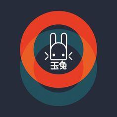Jade Rabbit design on @TeePublic!