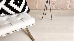 Boen Castle Eik Andante Live Pure White Pure White, Ottoman, Castle, Pure Products, Living Room, Chair, Furniture, Home Decor, Lily