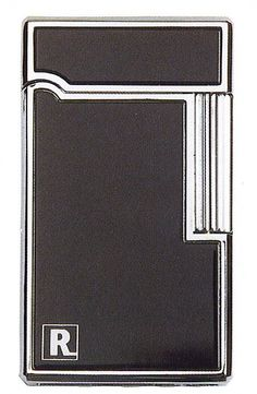 Ronson Aurora black lacquer gas lighter - Ronson - Gift Lighters