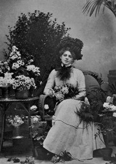 "mortisia: "" Ethel Barrymore 1901. Photo by William Burr McIntosh """