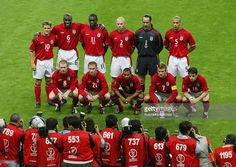 England team group taken before the FIFA World Cup Finals 2002 Group F match between England and Argentina played at the Sapporo Dome, in Sapporo, Japan on June 7, 2002. England won the match 1-0. DIGITAL
