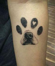 Body Art Tattoos, Small Tattoos, Sleeve Tattoos, Woman Tattoos, Tatoos, Forearm Tattoos, Dog Print Tattoos, Dog Paw Tattoos, Random Tattoos