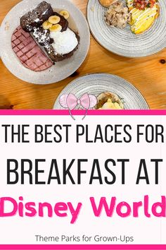 What are the best resort restaurants for breakfast in Disney World? Let's check out the most popular places to eat and start your magical day! Disney World Resorts, Walt Disney World, Breakfast Restaurants, Fairs And Festivals, Disney Dining, Food Festival, Disney Inspired, Places To Eat, Food To Make