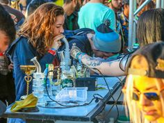#VapeBeauties at the SoCal #CannabisCup 2016