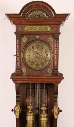 Lot 106: GRANDFATHER CLOCK ATTRIBUTED LORENZ FURTWANGLER