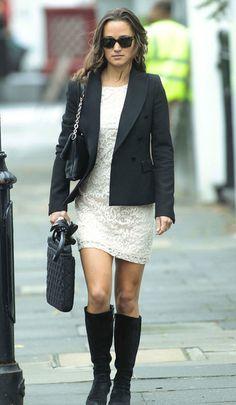 Pipa gurrl blazer dress and boots