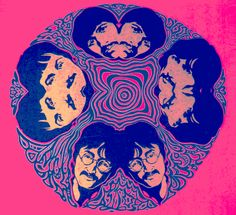 The Psychedelic Sixties beatles