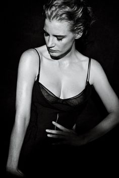 Jessica Chastain by Peter Lindbergh