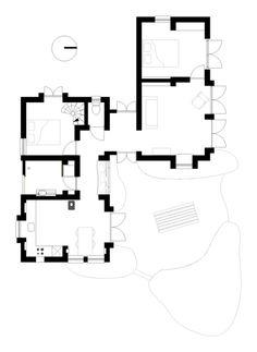 Floor plan Mudbrick home Australia (for sale!) Interesting floor plan