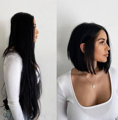 One Length Haircuts, Short Haircuts Over 50, Asymmetrical Bob Haircuts, Thin Hair Haircuts, New Haircuts, Trending Haircuts, Bob Hairstyles, Asymmetrical Pixie, Cute Haircuts