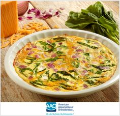 Farm Stand Frittata - Great Farm to Table Recipe while Your Smile is Under Construction