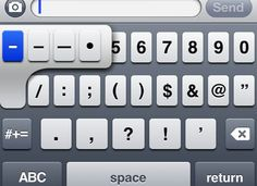 5 essential iPhone typing tips