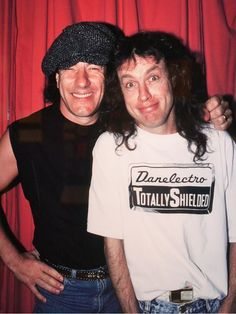 Brian Johnson and Angus Young - AC/DC