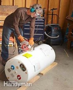 How To Get Rid Of A Water Heater Wonder If This Will Work For An