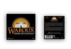 Waroux - Etiquette avant et étiquette arrière
