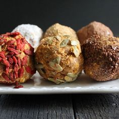 SHAPE Magazine. 11 Crazy Delicious Desserts with Hidden Healthy Foods. Cinnamon Sweet Potato Truffles by Nutrition Stripped