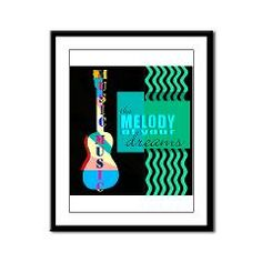 Music Framed Panel Print> CARDS, POSTERS & PRINTS> 22FISH22 graphics and fine art
