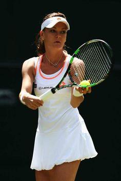 Agnieszka Radwanska @ 2nd round Wimbledon Lawn Tennis Championships - June 25-2014 #WTA #Radwanska #Wimbledon