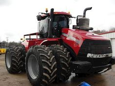 This is our other new tractor Case IH 580 HD Steiger.