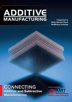 Additive Manufacturing - and repetitive graphic representation with 'layers'