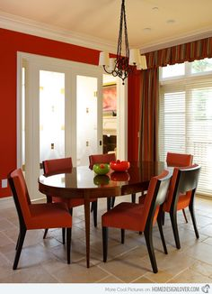 Classy dining set will definitely complete a pretty looking dining space.