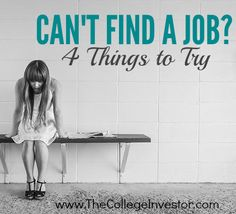 You've got your college degree (and the student loans to go along with it!) Now you can't find a job. Here's what to do. #careers