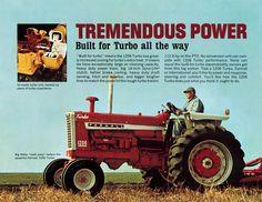 International Farmall 1206 Turbo 3 Fold Brochure 1966 Ad 3222 S | eBay
