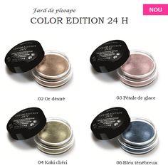 Micile Cutii Rotunde de la Bourjois se gasesc in 2013 intr-o noua formula: crema-pudra. Faceti cunostinta cu noile farduri de pleoape Color Edition 24 H!