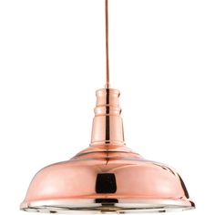 This unusual light copper plated glass ceiling pendant is the ideal lighting for a stylish dining room or kitchen. The trendy copper colour adds aditional interest to the already unusual design. Click to shop for yours.