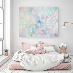 A La Mode Studio Confetti Canvas Print