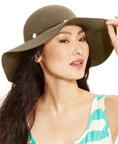 5d282c9b8e133 Pale Felt Rancher Hat Taupe Nine West