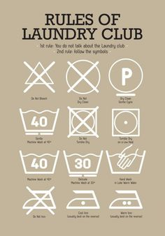 Laundry Room Poster with Laundry Pictograms in Light mint Green cool Laundry decoration Poster kitchen print laundry wall art poster art Kitchen Posters, Kitchen Prints, Room Posters, Kitchen Art, Laundry Symbols, Light Mint Green, Laundry Hacks, Laundry Rooms, Laundry Shop