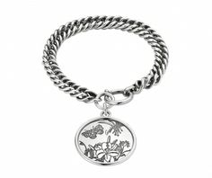 Gucci Flora Sterling Silver Bracelet From Berry's Jewellers £325