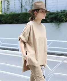 Deuxieme Classe Japan Fashion, Fashion 2020, Diy Fashion, Womens Fashion, White Beige, Spring Summer Fashion, Lounge Wear, Cool Outfits, Bell Sleeve Top