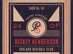 Part of the back of a baseball card titled Pastime Signatures.