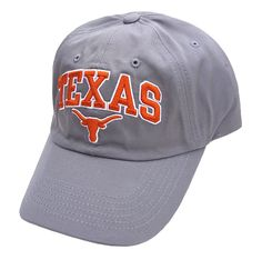 Texas Longhorns Secondary Team Relaxed-Fit Charcoal Adjustable Cap on Sale Orange Texas, University Of Texas, Texas Longhorns, Charcoal, Baseball Hats, Cap, Sweatshirts, Fitness, How To Wear