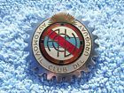 VINTAGE 1970s AUTOMOBILE CLUB OF URUGUAY CAR BADGE-CLASSIC AUTOMOVIL AUTO EMBLEM